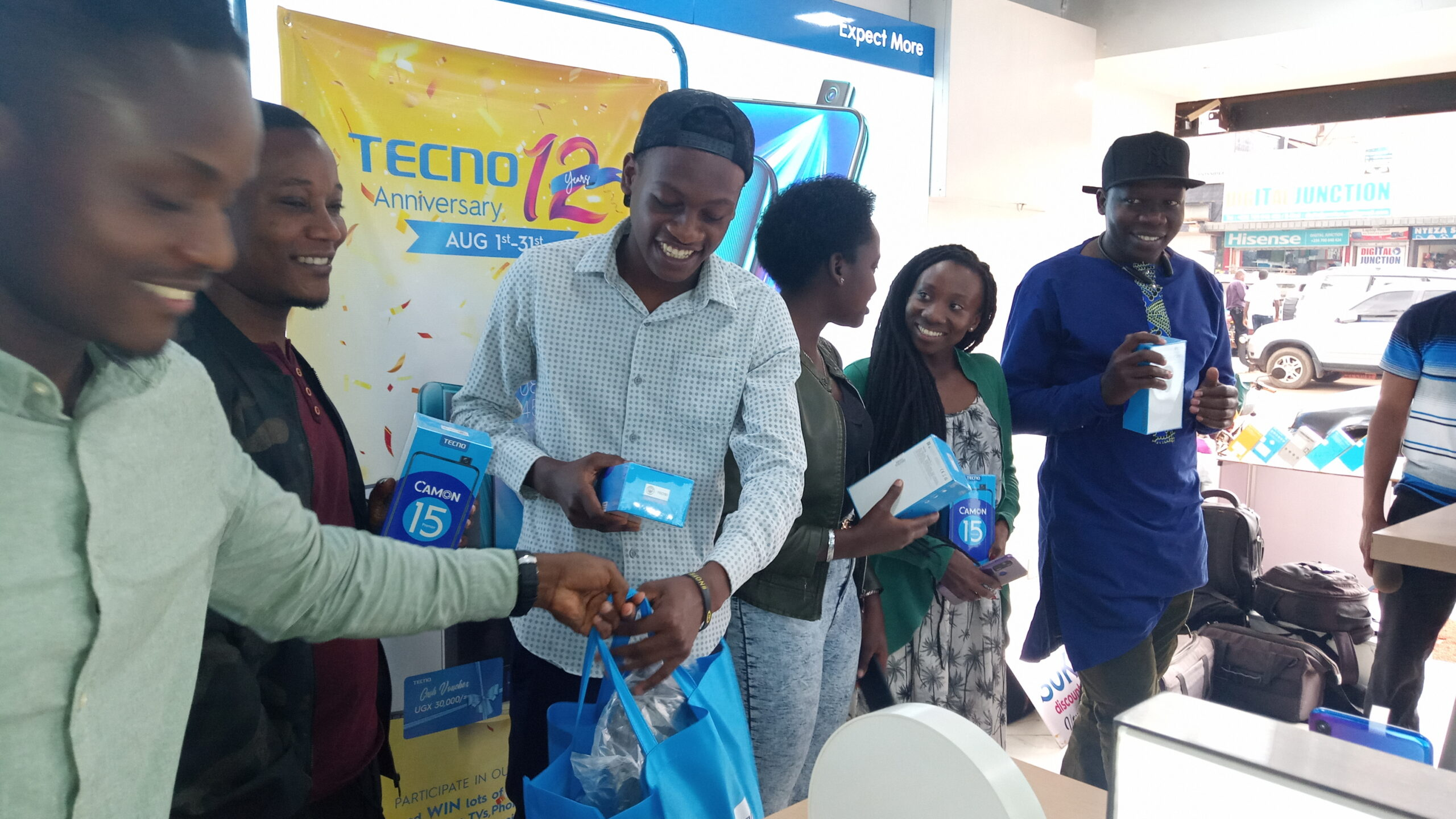 Customers in for Amazing Prizes as Tecno Uganda Celebrates 12 Years Anniversary - Newslibre