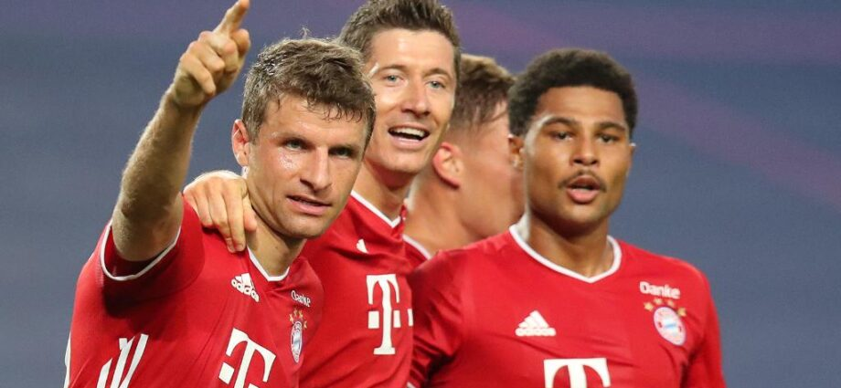 Gnabry's 2 Goals Send Bayern Munich to Champions League Finals 1