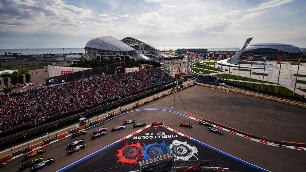 Russia Targeting 30,000 Fans for F1 GrandPrix - Newslibre