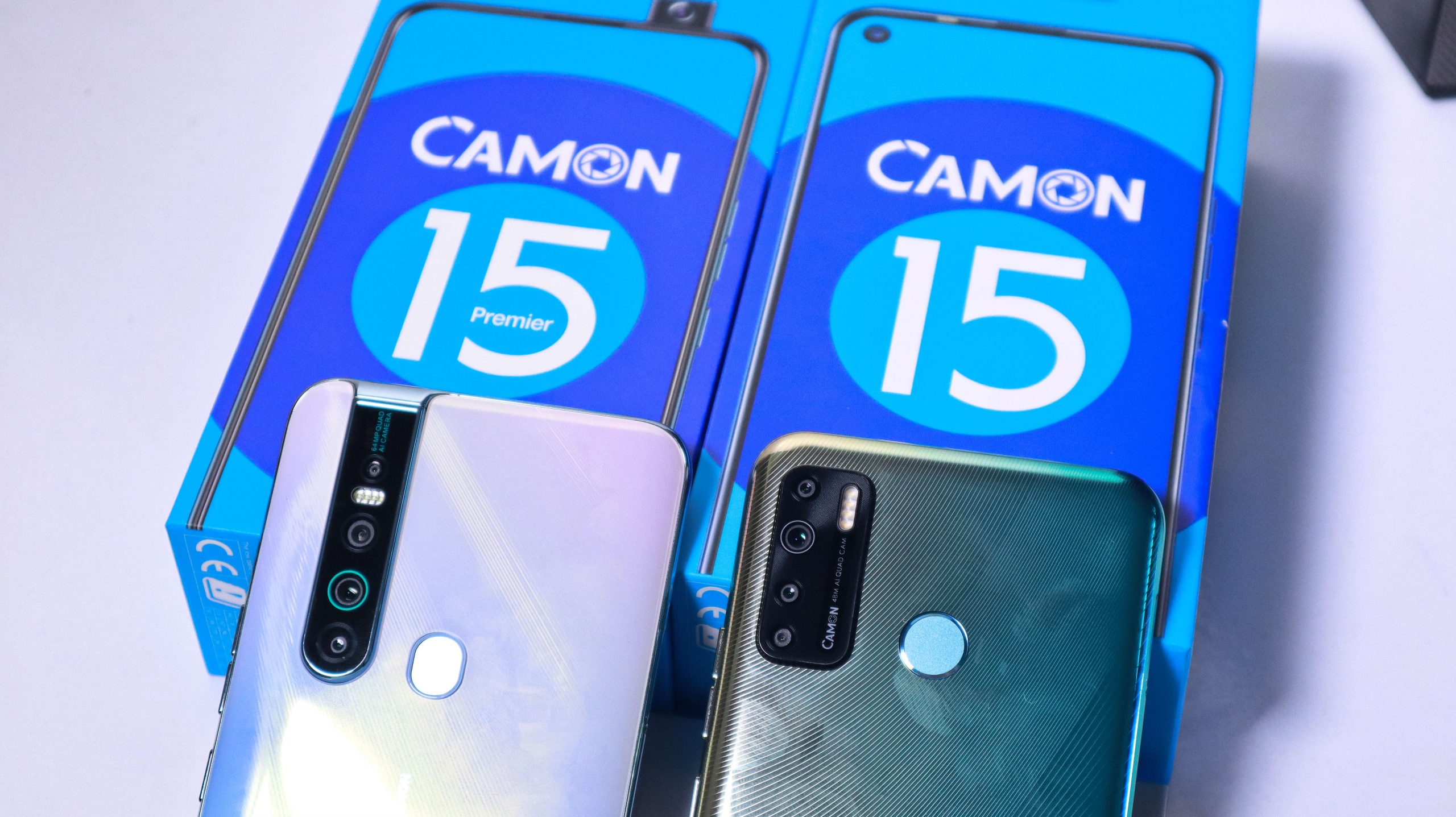 Tech Review: Unboxing the Tecno Camon 15 - Newslibre