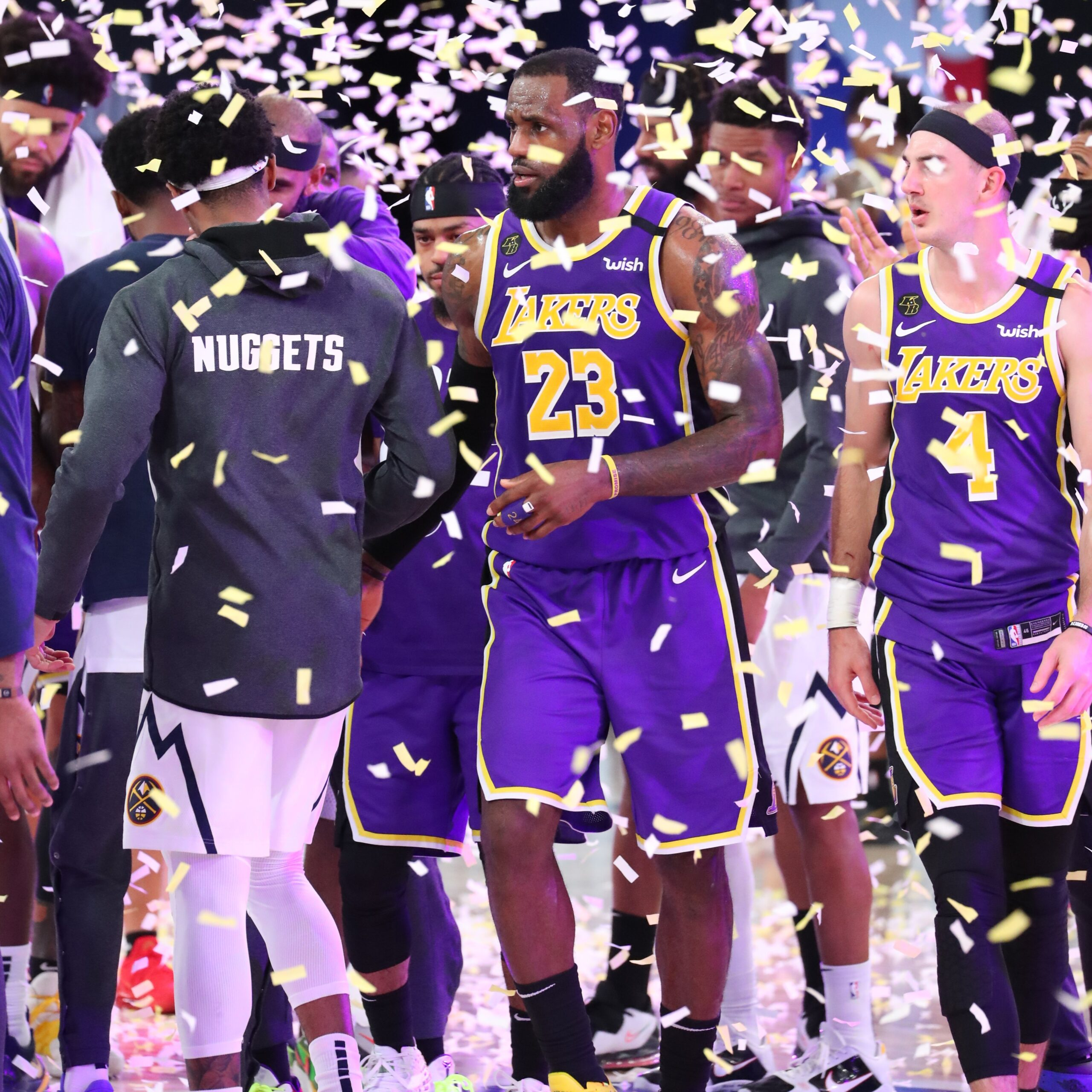 LA Lakers Make NBA Finals for the First Time in 10 Years - Newslibre