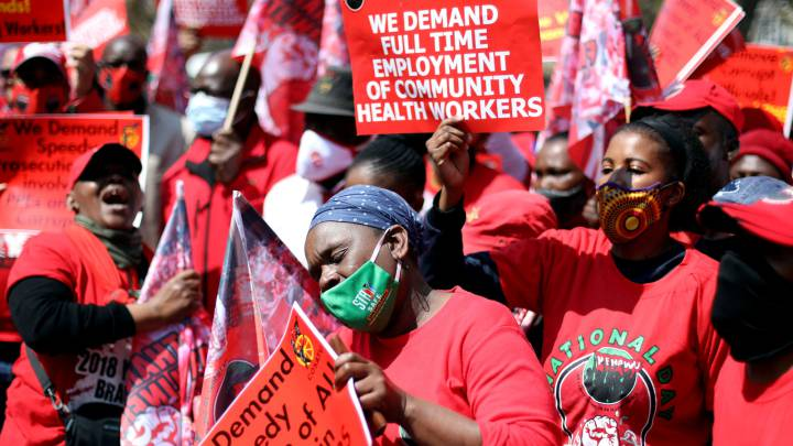South Africans Protest over COVID19-Relief Fund Misuse - Newslibre