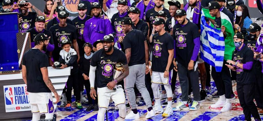 The LA Lakers Win NBA Championship Number 17 - Newslibre