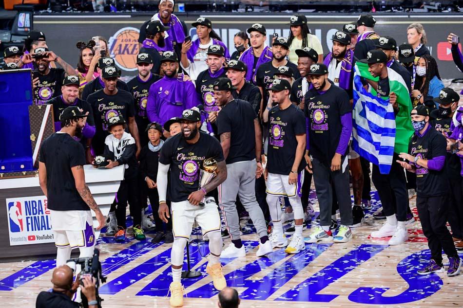The LA Lakers Win NBA Championship Number 17 Newslibre