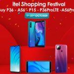 Smartphone Giants iTel Bring iBuy Shopping Festival
