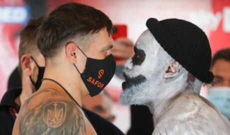 Halloween Boxing: Oleksandr Usyk vs Derek Chisora - Newslibre