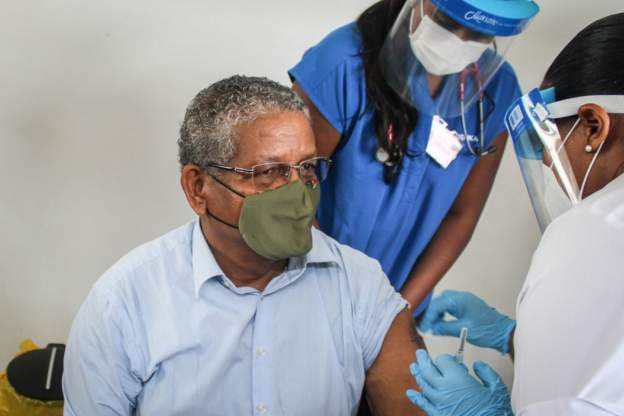 COVID-19 Immunisation Kicks Off In Seychelles - Newslibre