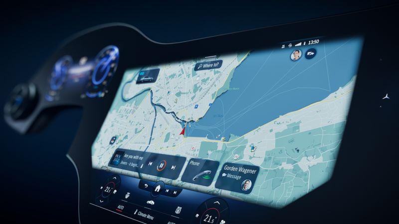 Mercedes-Benz Reveals Its 56-inch Hyperscreen Displays - Newslibre