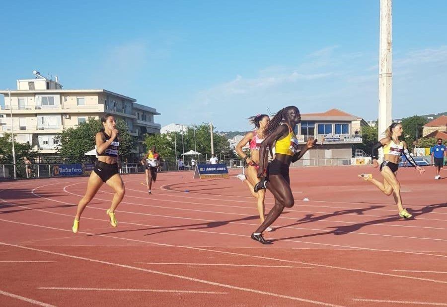 Uganda's Star Sprinter Shida Leni Puts On An Amazing Performance In Greece - Newslibre