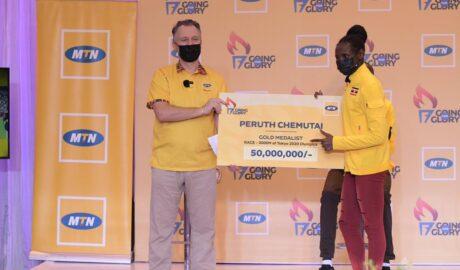 MTN Rewards Uganda's 2020 Olympics Athletes with Cash Prizes - Newslibre