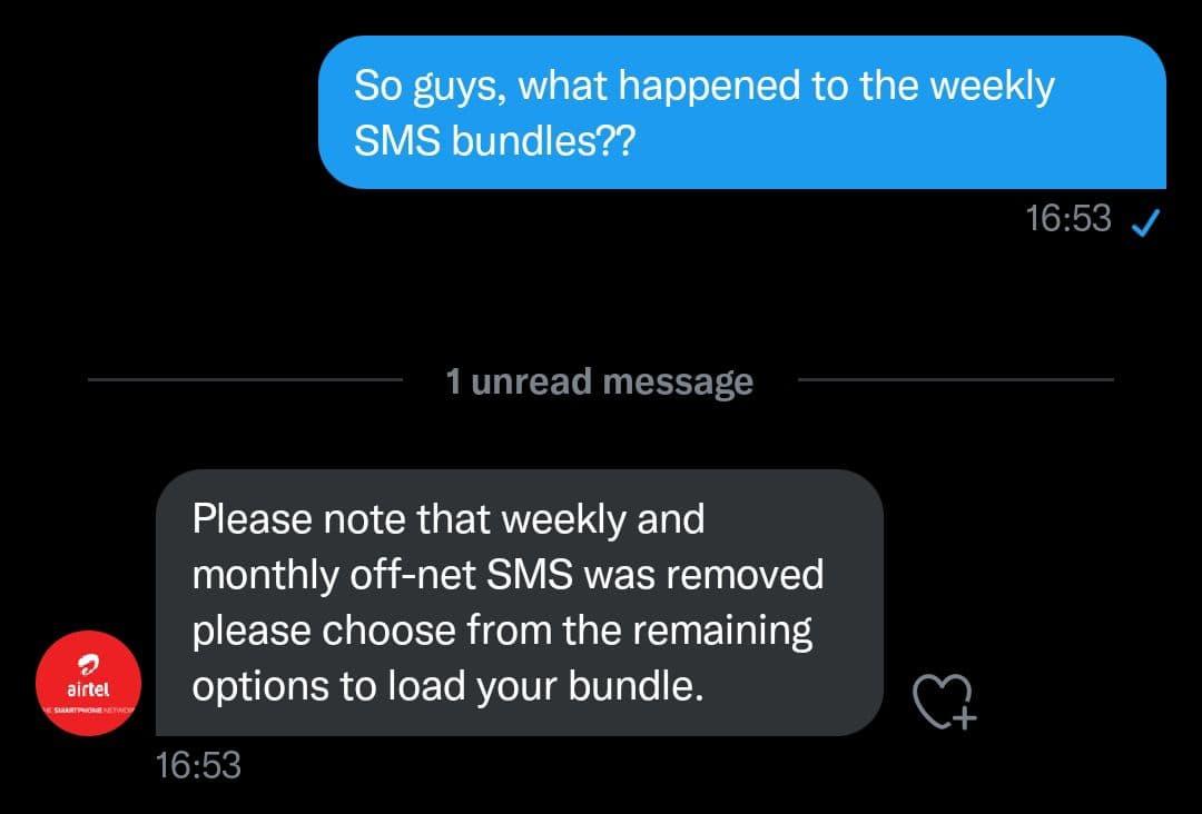 Airtel Uganda Planning On Dropping SMS Bundles Secretly - Newslibre